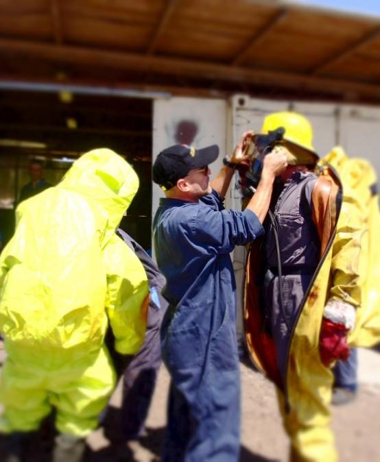 השתלמות מעשית חומרים מסוכנים- לעובדים