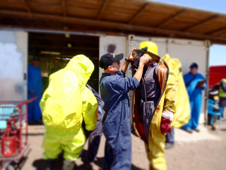 הדרכת חומרים מסוכנים 4 שעות במפעל