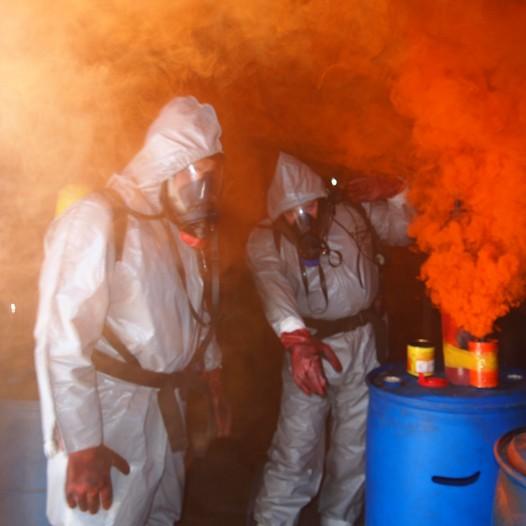 """הדרכת בטיחות אש וחומ""""ס אימון מתקדם"""