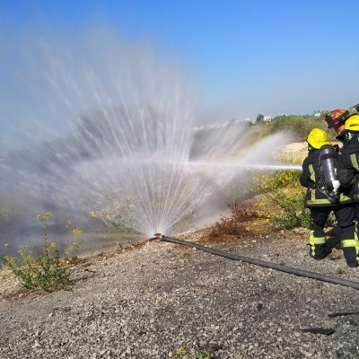 קורס כבאי מפעלי - מרכז בטיחות אש